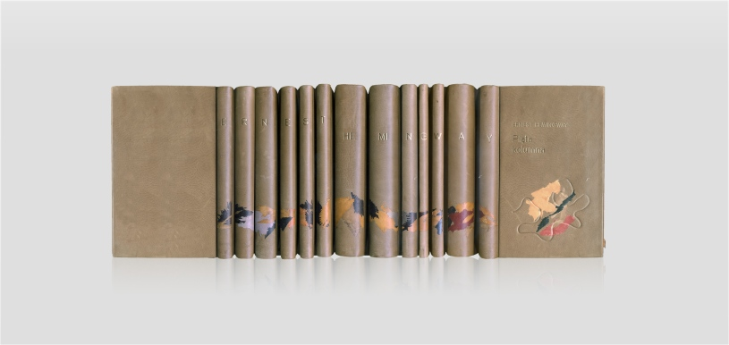 Hemingway Ernest, works, collector's edition, rare books, książka kolekcjonerska