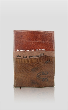 Marquez Gabriel Garcia - Sto lat samotności - collected works - home library - collector's edition - luxury hand-made bookbinding
