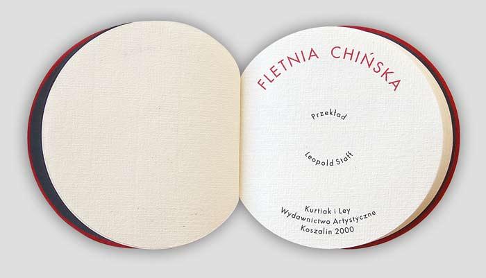 The Chinese panpipe (Fletnia chinska)